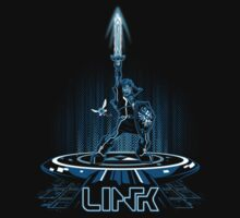 LINKTRON - Blue Variant Kids Tee