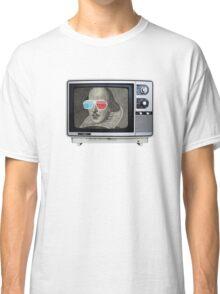 Shakespeare 3D T.V. Classic T-Shirt