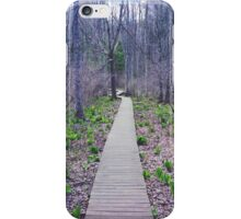 Walk the Line iPhone Case/Skin