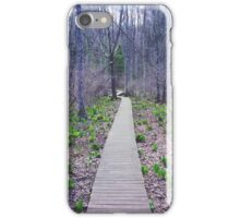 Walk the Line iPhone Case/Skin
