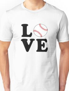 Love Baseball Unisex T-Shirt