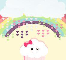 Kawaii Cupcake by sweettoothliz