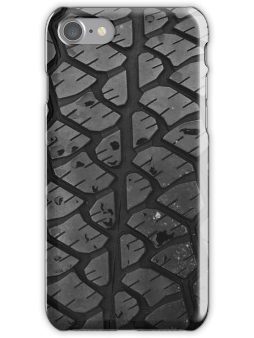 Truck Tire Tread iPhone 5 Case / iPhone 4 Case  / Samsung Galaxy Cases  by CroDesign