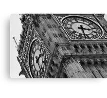 Closeup shot of the Big Ben Canvas Print