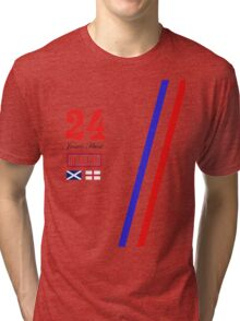 Hesketh Racing James Hunt 24 formula 1 Tri-blend T-Shirt