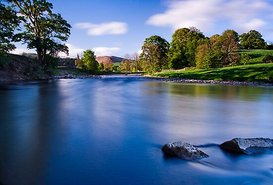 River Wharfe, Bolton Abbey, Yorkshire Dales by Jim Round