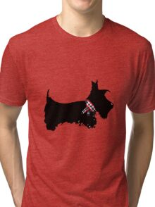Scottie Dog Tri-blend T-Shirt