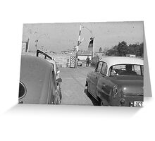 Germany: Berlin.1967 East Dean, Sussex, Vienna 1969 Greeting Card