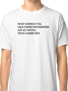 Cyborg Photographe - Rick and Morty Classic T-Shirt
