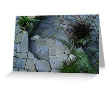Mosaic Garden Greeting Card