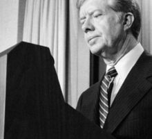 President Jimmy Carter Sticker