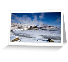 Winter at Embsay, Yorkshire Greeting Card