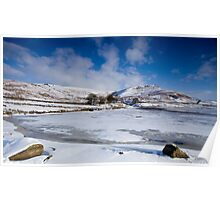 Winter at Embsay, Yorkshire Poster