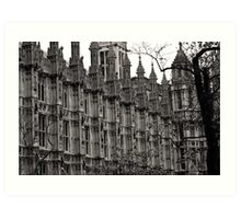 Houses of Parliament London Art Print