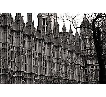 Houses of Parliament London Photographic Print