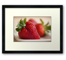 Ready For Eating Framed Print