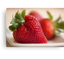 Ready For Eating Canvas Print