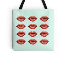 Many Lips Tote Bag