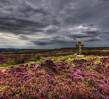 Cowper's Cross, Ilkley Moor, Yorkshire by Jim Round