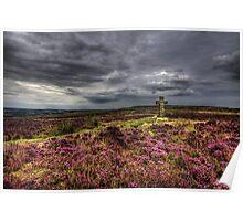 Cowper's Cross, Ilkley Moor, Yorkshire Poster