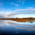 Around The Bend - Galway River Corrib by Mark Tisdale