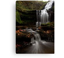 Scalber Force, Yorkshire Dales Canvas Print
