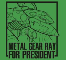 Metal Gear RAY for President  by screamingcolor