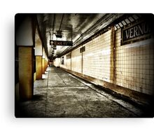 NYC Subway - Long Island City Canvas Print