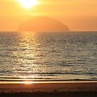 Ailsa Craig Sunset 1 by Togfather