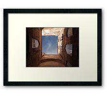 Hagia Sophia Courtyard Framed Print