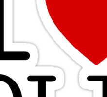 I <3 BOLIN Sticker