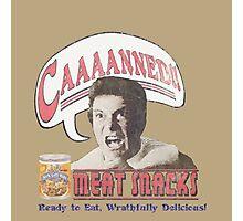 Khan's CAAAANNED! Meat Snacks w/o logo Photographic Print