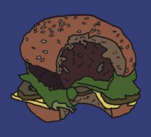 tasty burger by Evan Waits