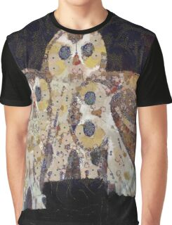 Three Owls - Art Nouveau Inspired by Klimt Graphic T-Shirt