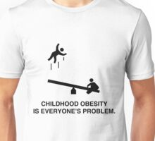Childhood Obesity Unisex T-Shirt