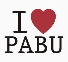 I <3 PABU Kids Clothes
