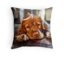 Mia the Wonderpuppy Throw Pillow