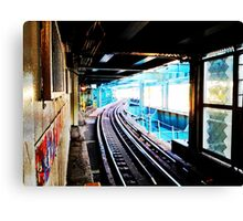 Queensboro Plaza Subway Canvas Print