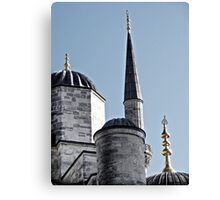 Domes and Minaret Canvas Print