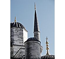 Domes and Minaret Photographic Print