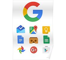 Google products Poster