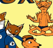 The Fantastic Fox Sticker