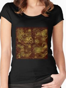Gold Soul Women's Fitted Scoop T-Shirt