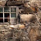 Framed in stone by Elisabeth van Eyken