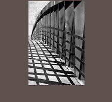 Black And White Bridge Shadow Grid Unisex T-Shirt