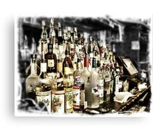 Plenty of Booze Canvas Print