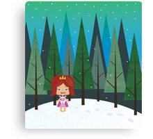 December forest Canvas Print