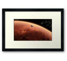 Mars Landing Framed Print