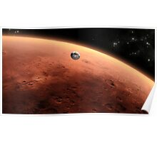 Mars Landing Poster