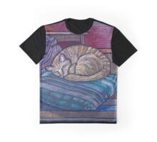 cat on a cushion  Graphic T-Shirt